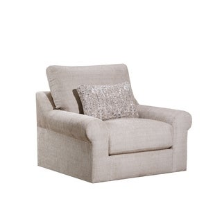 Lane Luxe Seating Weston Putty Swivel Chair