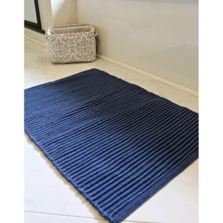"Unbelievable Mats 20"" x 32"" Ribbed Bath Rug"