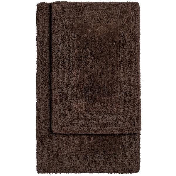 Reversible Bathroom Mats: Shop Unbelievable Mats Two Piece Reversible Organic Cotton
