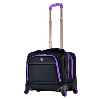 Hover Spinner Rolling Tote (Option: Purple)