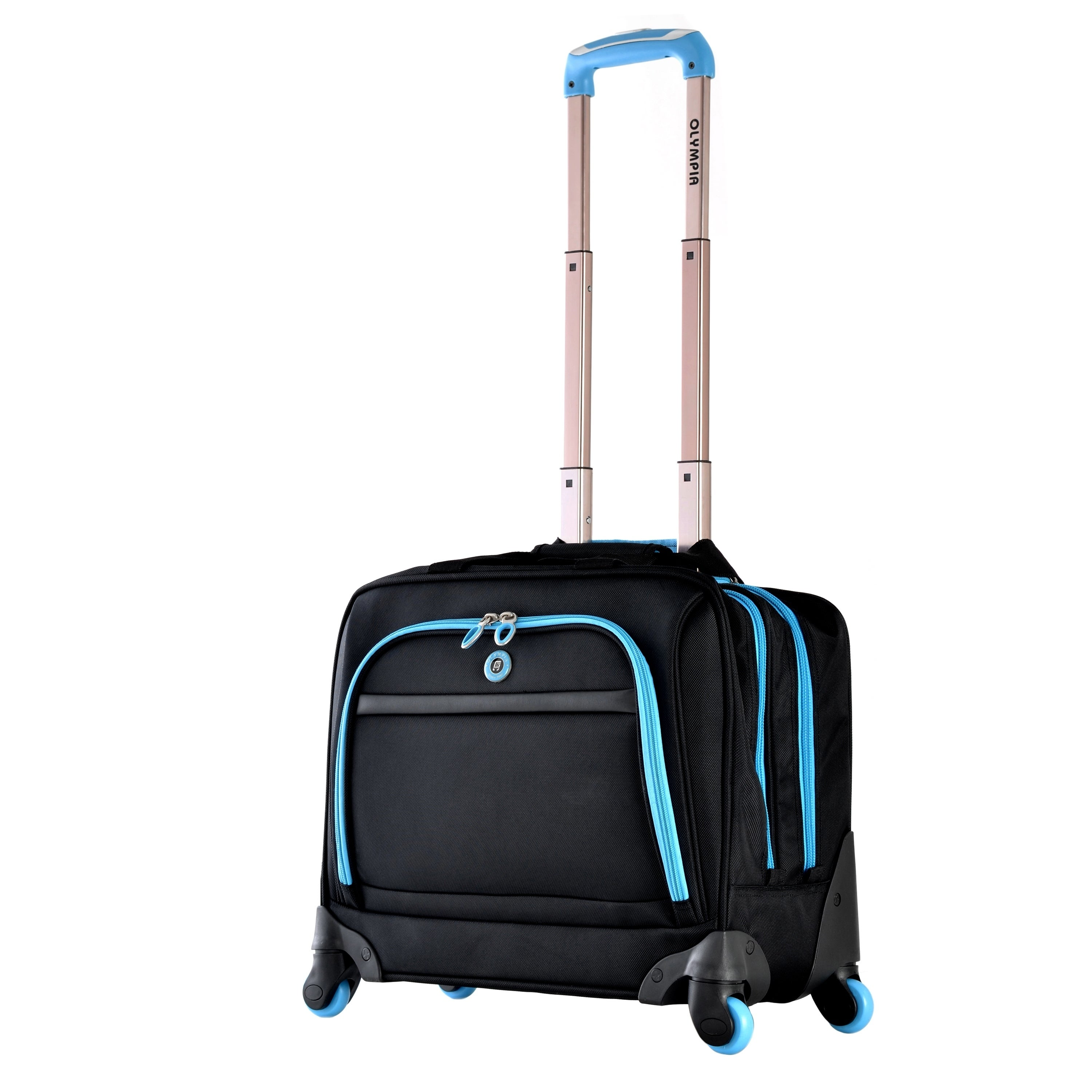 Olympia Hover Carry On 360 Spinner Wheels Tote Bag Multiple Colorways