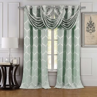 Duck River Quey Waterfall Grommet Valance