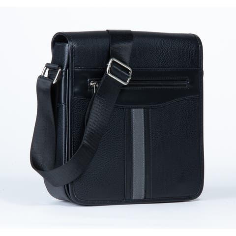MKF Collection Daniel Messenger Crossbody Men Bag by Mia K.
