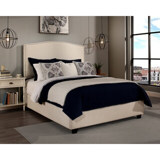 Republic Design House Newport Upholstered Bed with Nail Head Trim