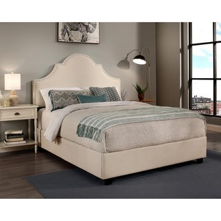 Republic Design House Portman Upholstered Bed with Nail Head Trim