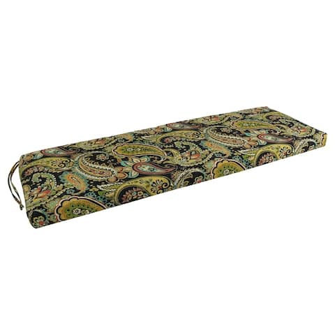Blazing Needles 60-inch All-Weather Bench Cushion