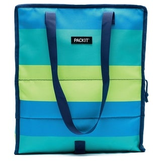 Grocery Bag, Fresh Stripe