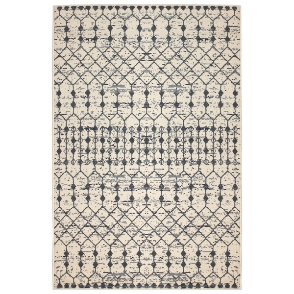 Isabella Home Cream (5'x8') Rug - 5' x 8'