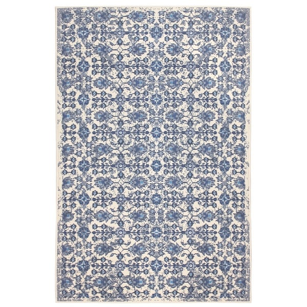 Madelyn Home Blue (5'x8') Rug - 5' x 8'