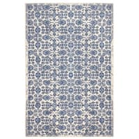 Madelyn Home Blue (5'x8') Rug - 5' x 8'