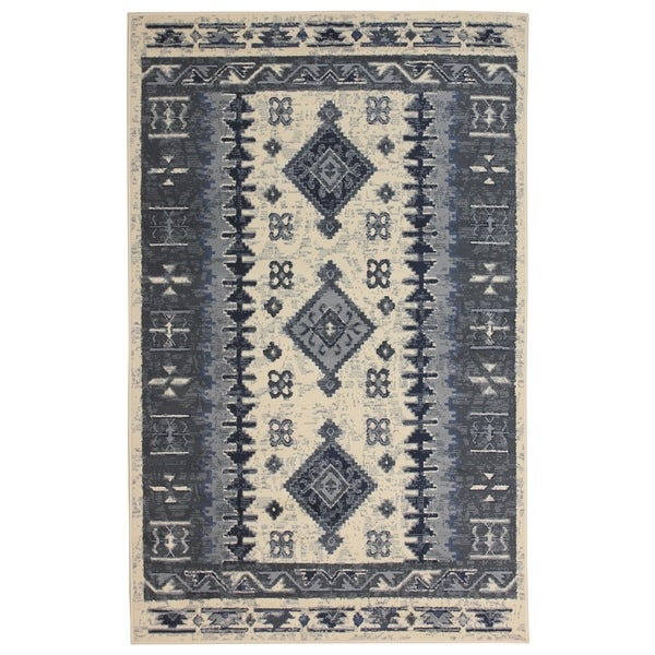 Shop Peyton Home Grey 8 X10 Rug 8 X 10 On Sale