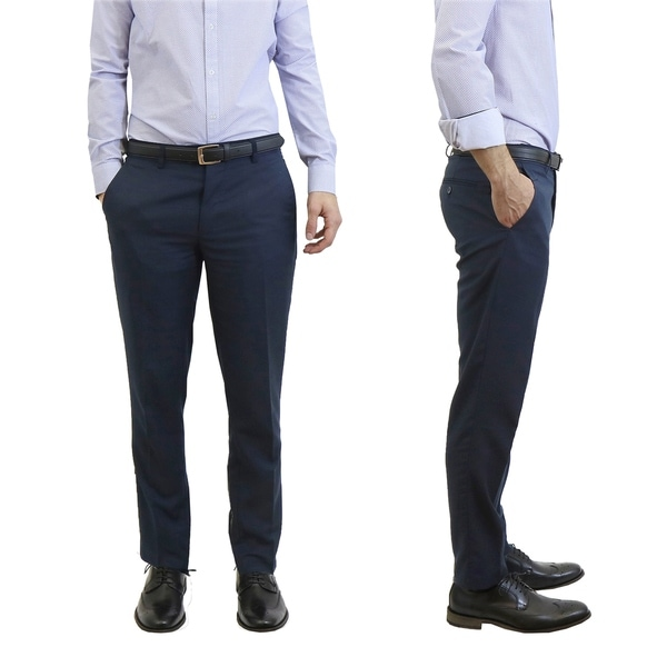 Galaxy by Harvic Men's Slim Fit Casual Dress Pants. Opens flyout.