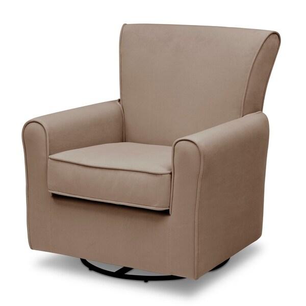 Blue Velvet Delta Children Elena Nursery Glider Swivel Rocker Chair