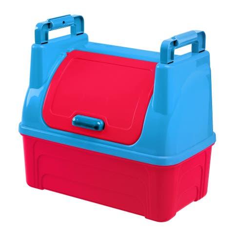 American Plastic Toys Kids Toy Storage Bin - Red