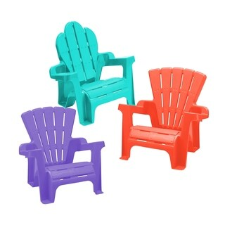 Adirondack Chair Assortment (case of 6 chairs) - Blue/Purple/Red