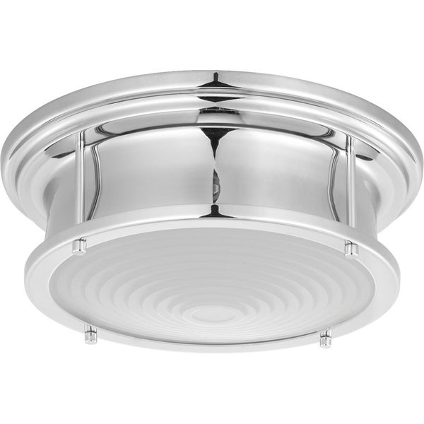 led flush mount fixture lithonia lighting progress lighting fresnel lens chromed steel 1275inch led flush mount fixture shop