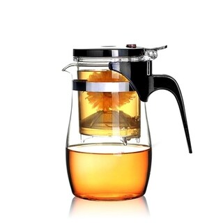BOCHA Teapot with Built-in and Removable Tea Infuser (16-ounce)