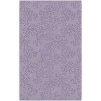 "Brumlow Mills Bella Lavender Nylon Floral Area Rug - 7'6""x10'"