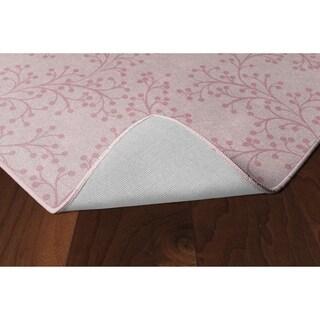 Brumlow Mills Bella Pink Floral Area Rug - 5' x 8'