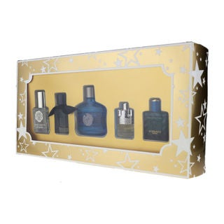 Assorted Fragrances Men's 5-piece Gift Set