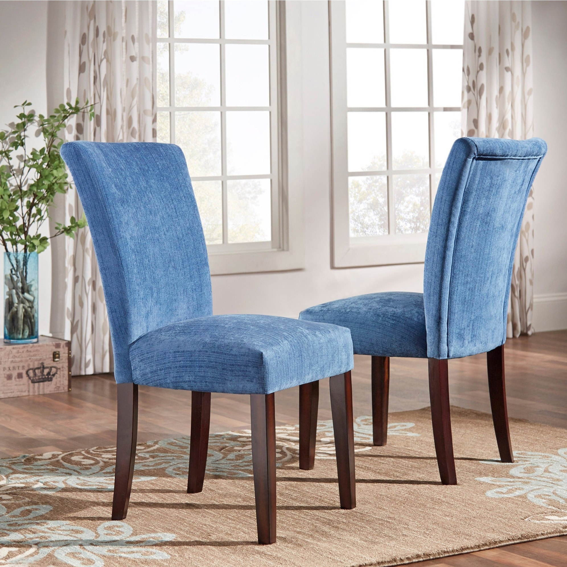 Parson Classic Upholstered Dining Chair (Set Of 2) By INSPIRE Q Bold (Option
