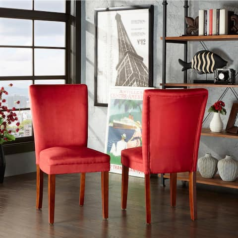 Buy High Back, Red Kitchen & Dining Room Chairs Online at ...