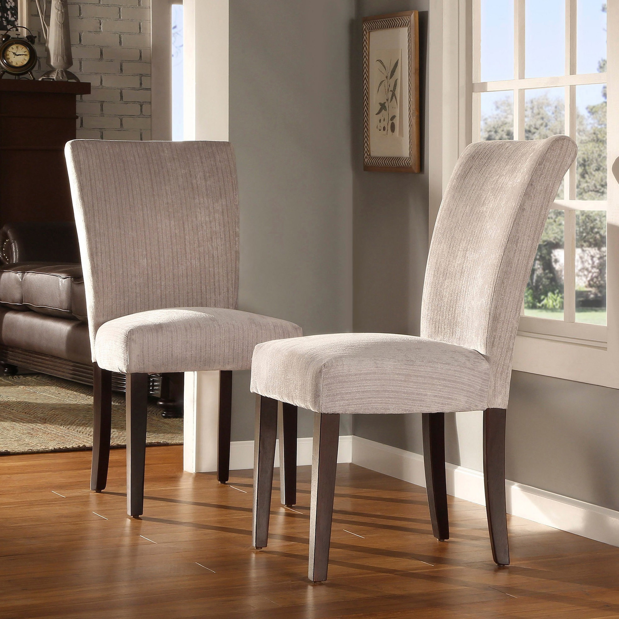 dining upholstered host with products height parson riley chair trim width stylus item threshold nailhead stoney