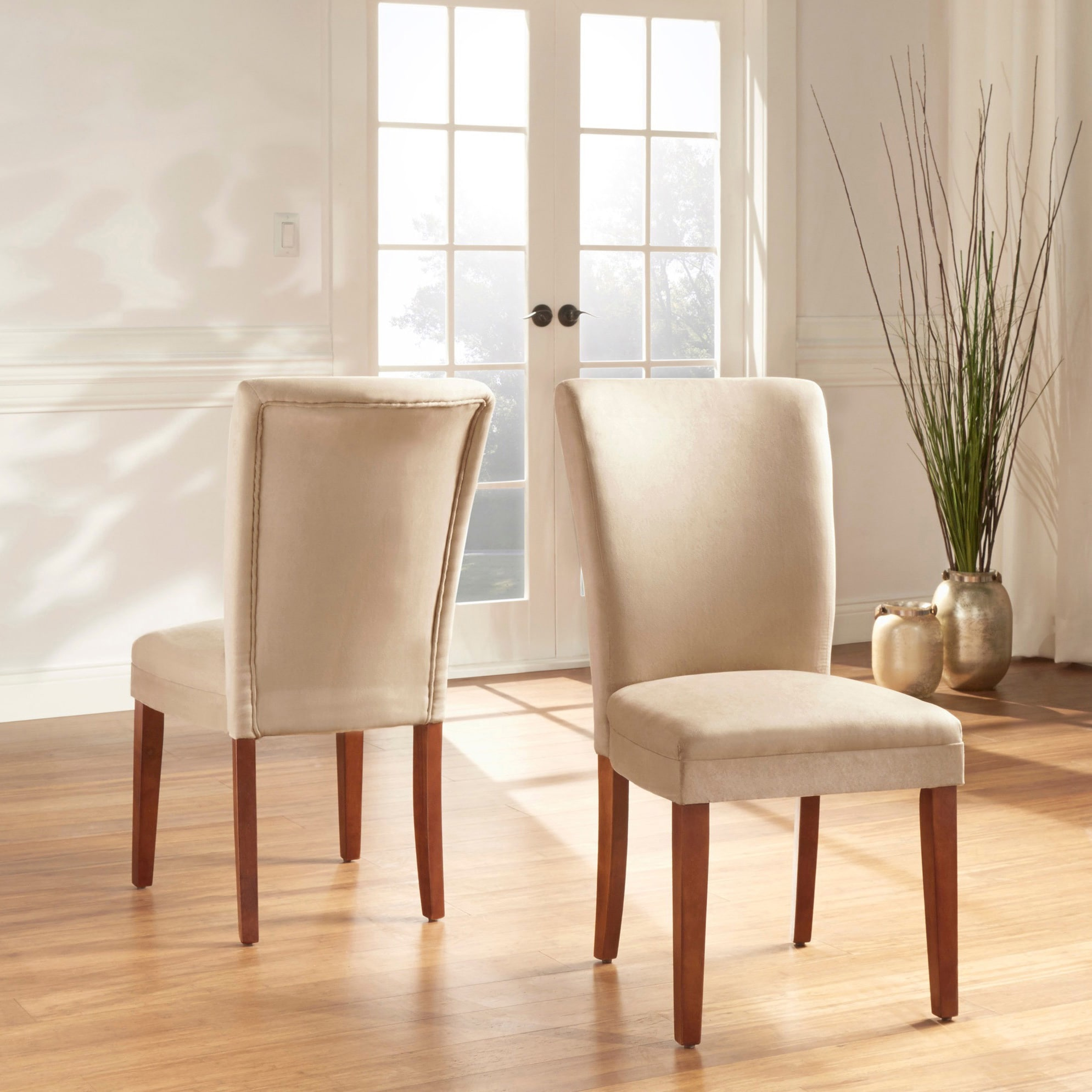 Parson Classic Upholstered Dining Chair (Set Of 2) By INSPIRE Q Bold (5