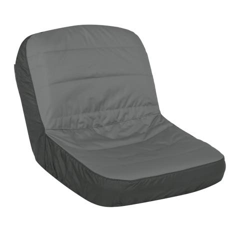 """Classic Accessories Deluxe Tractor Seat Cover, Fits Seats 16.5"""" - 18""""H, Large"""