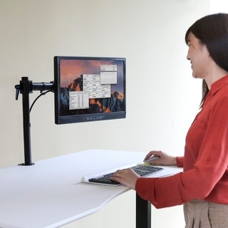 "AIRLIFT 360 Single Adjustable Desk Mount Monitor Arm 13"" to 27"", Vesa Compatible"