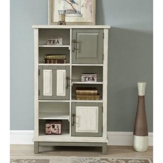Somette Keystone Multi-Color Three Door Bookcase
