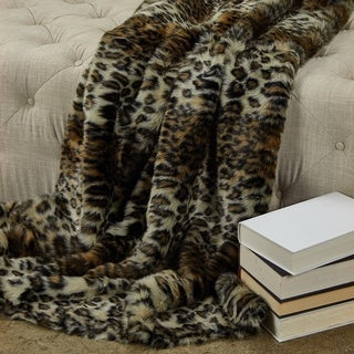 Link to Wild Leo Faux Fur Luxury Throw Similar Items in Blankets & Throws
