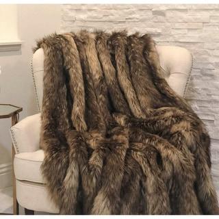 Mountain Coyote Handmade Luxury Throw