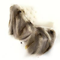 Alaskan Hawk Handmade Luxury Throw