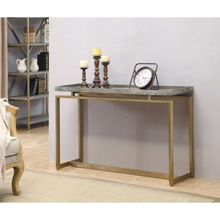 """Link to Somette Biscayne Weathered Console Table - 47.5""""L x 15.5""""W x 30""""H Similar Items in Living Room Furniture"""
