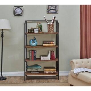 Somette Domingo Natural Brown Bookcase