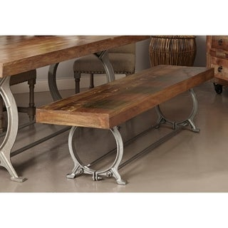 Somette Reclaimed Wood Chaparral Dining Bench
