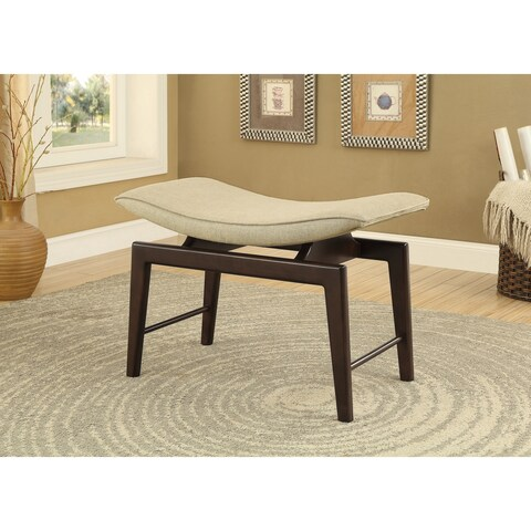 Somette SoHo Brown Accent Bench