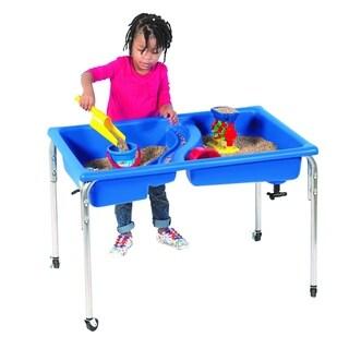 "Children's Factory Double Basin Neptune Table - 18""H"