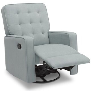 Delta Home Grant Recliner featuring LiveSmart Fabric by Culp, Mist
