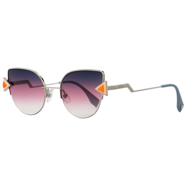 790f264869e Shop Fendi FF0242S TJVFF Womens Pink Silver Powder Blue 52 mm Sunglasses -  pink silver powder blue - Free Shipping Today - Overstock - 22165356