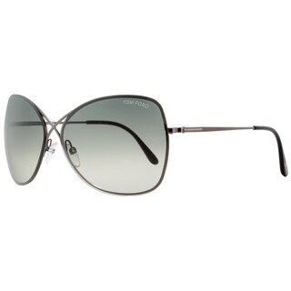 Tom Ford TF250 Colette 08C Womens Gunmetal/Black 63 mm Sunglasses