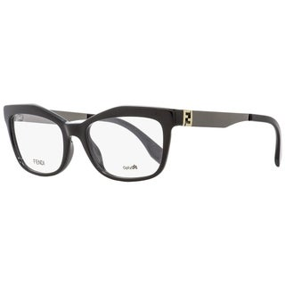 Fendi FF0050 KKL Mens Black/Gold/Gunmetal 53 mm Eyeglasses