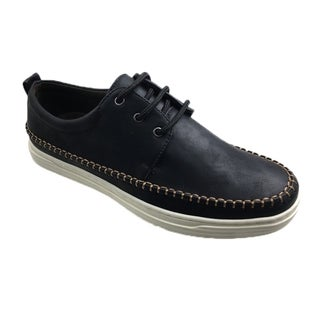 Andrew Fezza AF-8012 NATHAN Men's Fashionable lace shoes with contrast Stitching