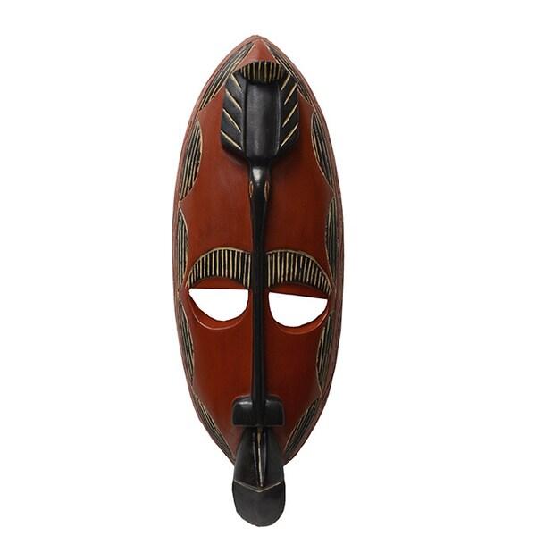 Handmade Ohemaa Mask (Ghana)