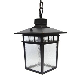 JUDE 1 Light Hanging Exterior Light in Oil Rubbed Bronze