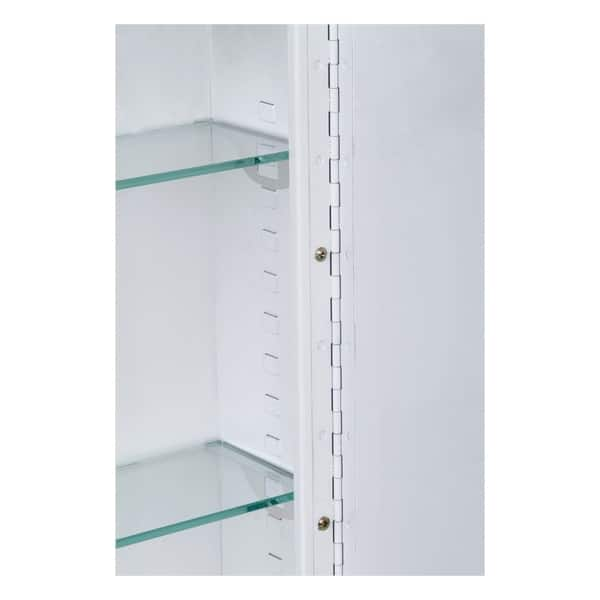 Ketcham Cabinets Deluxe Series Surface Mounted Medicine Cabinet 14 X 20