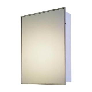"""Ketcham Cabinets Deluxe Series Surface Mounted Medicine Cabinet - 14"""" x 20"""""""