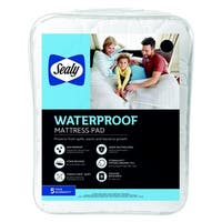 Sealy Waterproof Mattress Pad - White