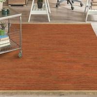 "Orian Rugs Providence Valencia Harvest Area Rug with Beige Fringe - 6'7"" x 9'6"""
